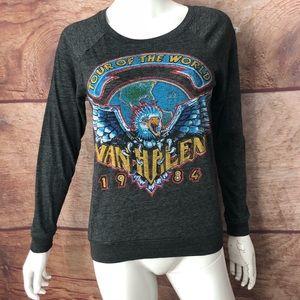 Van Halen Tour of the world Top Women's Small